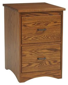 Amish Prairie Mission File Cabinet The Prairie Mission File Cabinet is an attractive and strong option for your office. Solid wood and custom built with choice of 2, 3, or 4 drawers. Choose wood type, stain and hardware too. Amish made in Ohio. #filecabinet #officefurniture