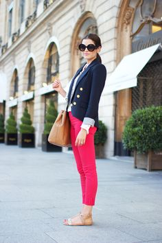 I think I want some red skinny jeans?!
