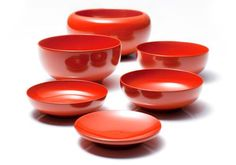 """""""Ouryoki"""" of Taniya is the official tableware used by Eiheiji, one of the largest Zen Temples in Japan. It is available in black and red, but the color used by Eiheiji is black. The tableware is stackable to enable the Zen Buddhist monks to carry it around with them. There are strict rules for the design of """"Ouryoki"""", which are given by the temple, and Taniya's masters create products accordingly and to perfection."""