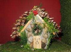 Fairy House by AllThingsFairies on Etsy, $22.00