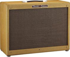 "Fender Hot Rod Deluxe III - 3 channel, 40watt all tube amp with 12"" Celestion speaker and lacquered tweed casing"