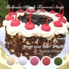 Black Forrest soap by sheloves Philippines, Cereal, Soap, Breakfast, Black, Black People, Morning Breakfast, Breakfast Cereal, Soaps