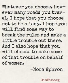 notesondesign:    wisdom from Nora    she is missed.....