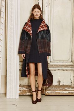 Next season preview: Mulberry Autumn Winter 2015 at London Fashion Week.