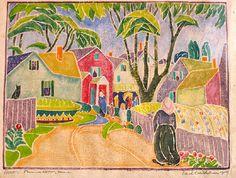 Edith Lake Wilkinson Woodblock Prints