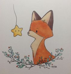 FOX Illustration Print Fox Kunstdruck FOX paar Liebe Illustration Orange Fox Kunstdruck Fox Kindergarten Kunst Woodland Home Decor Fox Wandkunst MiKa Fox Illustration, Christmas Illustration, Little Doodles, Fox Art, Nursery Art, Fox Nursery, Animal Nursery, Nursery Decor, Easy Drawings