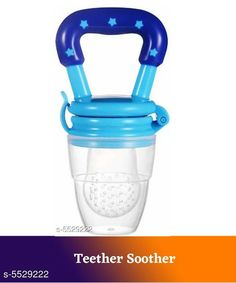 Baby Wellness rendy Baby Teether Soother Product Name: Baby Teether Soother Product Type: Teether Soother Material: Silicone Size: Age Group (0 Months - 3 Months) - 10 in Age Group (3 Months - 6 Months) - 12 in Age Group (6 Months - 12 Months) - 14 in Type: Teether Soother Description: It Has 1 Piece Of  Baby Teether Soother Country of Origin: India Sizes Available: Free Size *Proof of Safe Delivery! Click to know on Safety Standards of Delivery Partners- https://ltl.sh/y_nZrAV3  Catalog Rating: ★4.3 (2067)  Catalog Name: Free Gift Trendy Baby Teether Soother CatalogID_826035 C51-SC1666 Code: 351-5529222-
