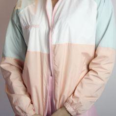 Pastel Anymore Windbreaker - Shop Kozy
