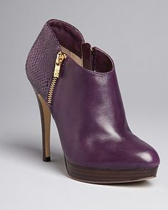 MICHAEL Michael Kors Booties - York High Heel - Jewel Tones - Accessories Trends - Fall Style Guide: It's On - LOOKBOOKS - Fashion Index - Bloomingdale's