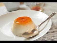 Flan sin colesterol - No colesterol vegan custard -Recetas de postres fáciles - YouTube