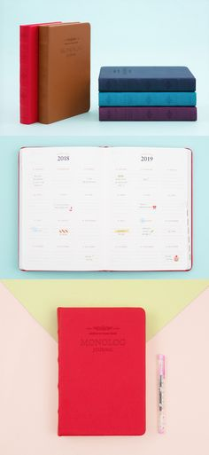 2018 Monolog Journal is designed for planning 10 years of your life and writing about all the precious memories you will have for the next 10 years. After you are done with the Journal, it will become most the valuable thing for you!