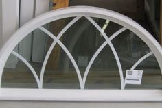 Architecture: Attractive White Polished Window Grids Arched Windows Frame To Decorate Contemporary Home Interior Designs Arched Top Entry Window Arched Window, arched window treatment ideas, drapes for arched windows ~ Wallpapersist Half Circle Window, Half Moon Window, Dutch Door Interior, Door Design Interior, Glass Door Curtains, Cool Curtains, Curtains Living, Dormer Windows, Transom Windows