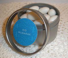 Eid Mubarak Favors  Set of 12 by SalaamCards on Etsy, $24.00