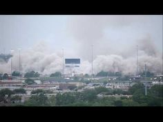 Texas Stadium / Dallas Cowboys Demolition & Implosion - YouTube