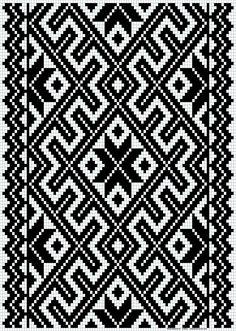 Bunad, Smykker, vev & rosemaling: Kvarde smøyg mønster