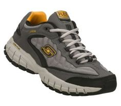 Men's Skechers Juke - Bighorn - Yellow Gray