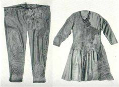 Skjoldehamn trousers/Skjoldehamn Tunic (970-1050) Norway (click link for pattern)   http://slezanie.pl/wp-content/uploads/2012/02/u11.jpg
