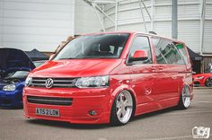 VW T5 - probably the nicest looking volkswagen T5 transporter on the road! - slammed - stance