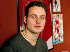 Heartthrob Candy: Andrew Lincoln