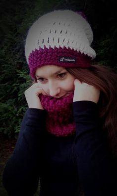 """#""""JoLie# """"KUSCHELWEICHE #MÜTZE mit #Loop von Strickparadies2015 auf DaWanda.com"""