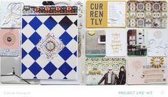 PROJECT LIFE | Week #6 *MAIN PL KIT* by celine navarro at @studio_calico