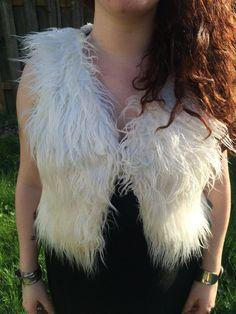 Almost Famous Shag Vest/ Penny Lane Vest/ Fuzzy by SubtleEquinox