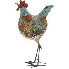 24 best metal garden roosters images garden art rooster roosters rh pinterest com