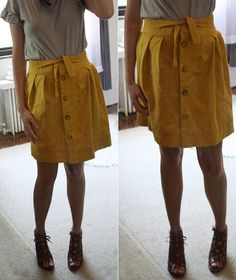 Tulip Skirt Sewn from Wikstenmade's Stitch