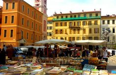 Book Market in Nice
