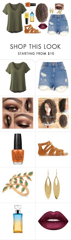 """District 11; Agriculture"" by ruthw422 ❤ liked on Polyvore featuring prAna, River Island, OPI, Miss Selfridge, Allurez, Kenneth Jay Lane, Calvin Klein, Lime Crime, 11 and Hungergames"