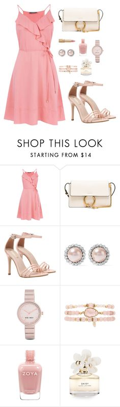 """Romantic Style For You"" by hiddensoulmemories ❤ liked on Polyvore featuring Chloé, Miu Miu, Nine West, Ettika, Marc Jacobs and Dolce&Gabbana"