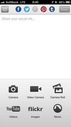 マルチポストアプリをiStatus+から乗り換えた。 連携アプリも多いし、使いやすい!と思ったら、Google+はなぜか連携できない(´Д` ) うーむ…