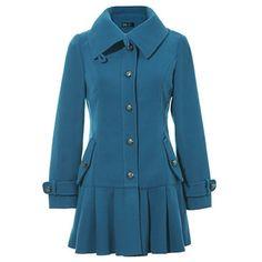 Khaki Korean Style Women Fashion Lapel Long Sleeve Wool Blend... ($32) via Polyvore