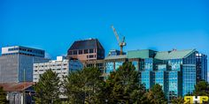 Halifax Waterfront Cityscape   - All of my photos/designs look MUCH better when viewed Large on my flickr site at - http://www.flickr.com/photos/sizzler68/ - © Rodney Hickey Photography 2014