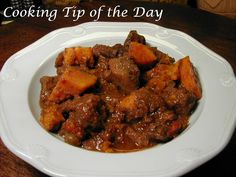 Looking for another beef stew recipe?   Need a quick and healthy recipe? Well ... I have a delicious one for you.   Moroccan Sweet Potat...