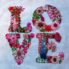 Embroidered LOVE - Sorry this links to nothing.  I don't have a blog or any place to put it.  Cherj2000@yahoo.com   <3