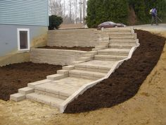 outdoor steps designs Recent Photos The Commons Getty Collection Galleries World Map App Hillside Landscaping, Outdoor Landscaping, Front Yard Landscaping, Outdoor Gardens, Landscaping Ideas, Landscaping Melbourne, Pergola Ideas, Outdoor Plants, Patio Ideas