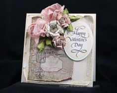 Quietfire Design 2013 Valentine Set and Spellbinders Valentine's Day Card