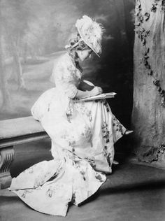 A lady writing a letter Vintage s Pinterest