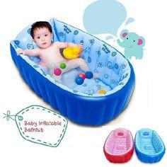 Summer Portable Large Baby Toddler Inflatable Bathtub Thick Bath Tub Pool