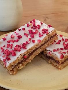 Chef Recipes, Recipies, Danish Cake, Yummy Food, Tasty, Sweet Nothings, Raspberry, Spices, Food And Drink