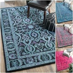 For Nuloom Handmade Persian Overdyed Wool Rug 5 X 8