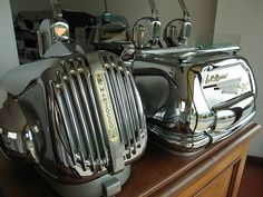 old La Marzocco machines   Flickr - Photo Sharing!