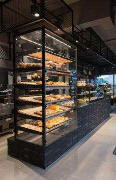 Studio Karhard in Hannover Cafe Göing Bäckerei Maas AD Bäckerei Design The post Studio Karhard in Hannover appeared first on Design Ideas. Restaurant Design, Bakery Shop Design, Deco Restaurant, Coffee Shop Design, Café Design, Food Design, Design Ideas, Bakery Store, Bakery Cafe