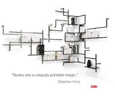 Take a rest, pick a book! Libreria ANTOLOGIA, each module as you like. http://bit.ly/1fZHH6y #design#furniture#iloveshoppingonline#style#interiordesign