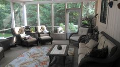 Screened Lanai, entrance from kitchen, overlooks and gives access to pool. - Cleveland house rental