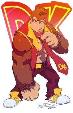 rat_rage_donkey_kong_by_robaato-d5kbzmk