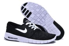 383a3f402d New Nike SB Stefan 631303-010 Janoski Max Contracted Unisex Casual Shoes  Black/White
