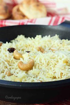 Going Vegetarian, Vegetarian Recipes, Healthy Recipes, Rice Recipes, Mexican Food Recipes, Cooking Recipes, Recipies, Couscous, Arroz Biro Biro