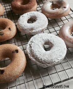 Skinny Homemade Baked Donuts - Vertical
